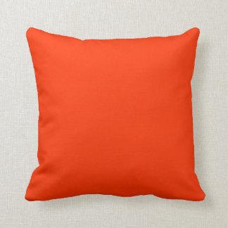 orange red pillow cushion