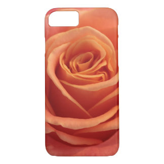Orange rose blossom iPhone 7 case