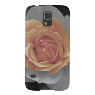Orange rose blossoms print galaxy s5 covers