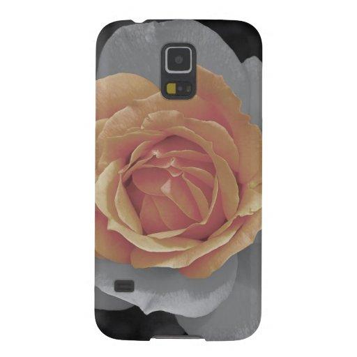 Orange rose blossoms print samsung galaxy nexus covers