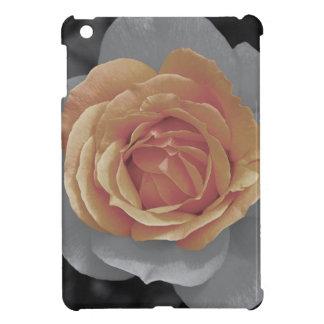 Orange rose blossoms print cover for the iPad mini