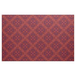 Orange Ruby No.1 Diagonal Fabric