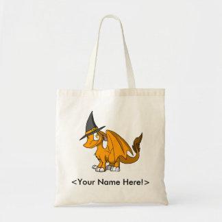 Orange SD Furry Dragon Trick or Treat Bag 1