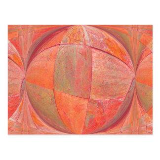 orange sherbert 2 postcard