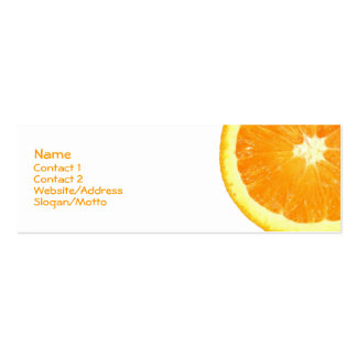 Orange Slice Business Cards