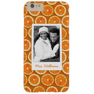 Orange Slice Pattern | Add Your Photo Barely There iPhone 6 Plus Case