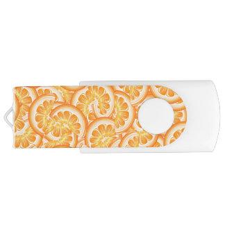 Orange Slice USB Drive