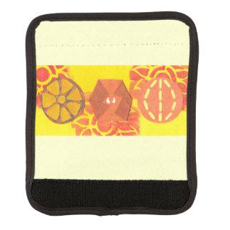 Orange Squash Dance Luggage Handle Wrap