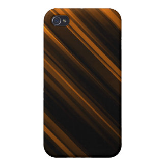 Orange Striped Covers For iPhone 4