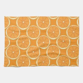Orange Summer Fruit Kitchen Towel