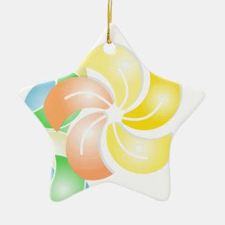 orange to flower rectangle .gif ceramic star decoration