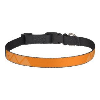 Orange Triangle Collar