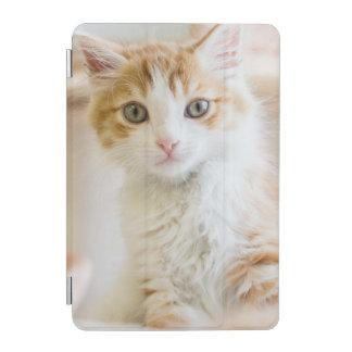Orange & White Kitten iPad Mini Cover