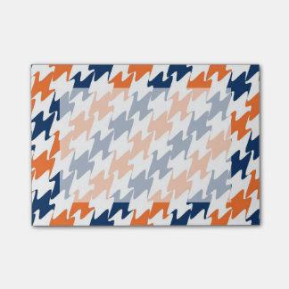 Orange White Navy Blue Team Colors Denver Football Post-it® Notes