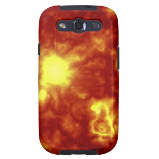 Orange & Yellow Galaxy S3 Covers
