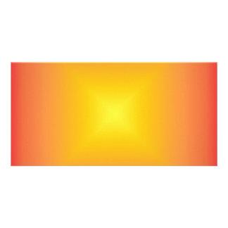 Orange yellow color harmony photo cards