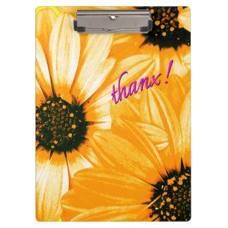 Orange/Yellow Daisies, thanx! - Clipboard