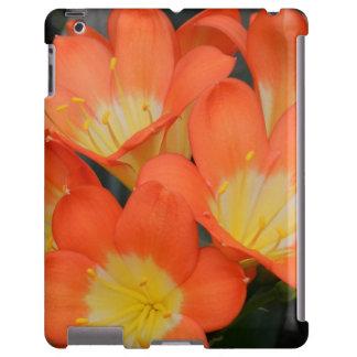 Orange Yellow Flower iPad Case