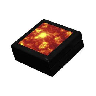 Orange Yellow Trinket Box