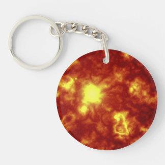 Orange Yellow Keychains