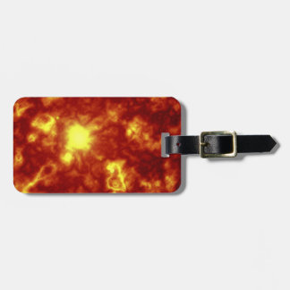 Orange & Yellow Tags For Bags