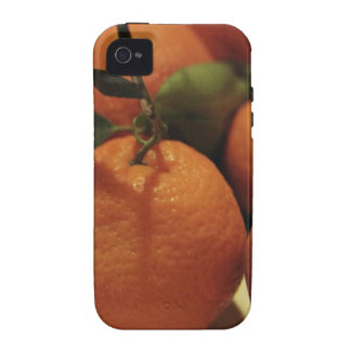 Oranges apples fruit on a table iPhone 4/4S case