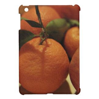 Oranges apples fruit on a table iPad mini cases