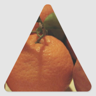Oranges apples fruit on a table stickers