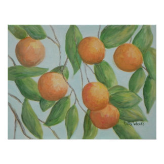 ORANGES FROM FLORIDA Poster