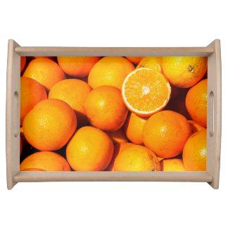 Oranges Serving Tray