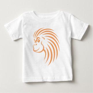 Orangutan in Swish Drawing Style Baby T-Shirt