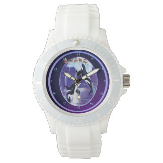 Orca Christmas Watch
