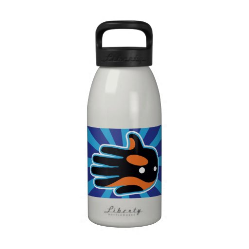 Orca Cute Killer Whale Dolphin Water Bottle