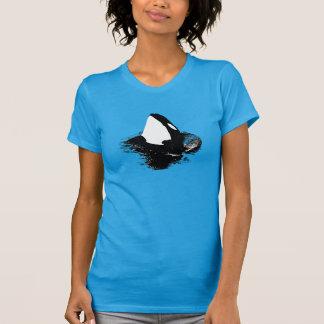 "Orca ""killer whale"" shirt- Blue"