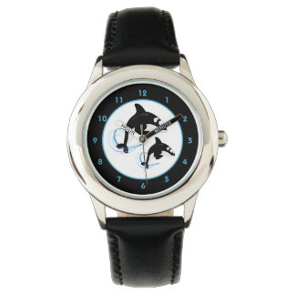 Orca Killer Whale Wrist Watch