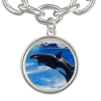 Orca Whale Charm Bracelets