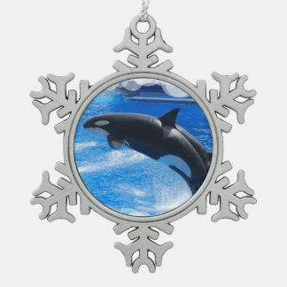 Orca Whale Ornaments