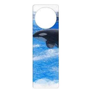 Orca Whale Door Knob Hanger