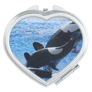 Orca Whale Makeup Mirrors
