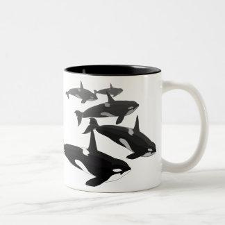 Orca Whale Mugs & Cups Killer Whale Coffee Cups