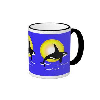 Orca Whale Ocean Sun Mug