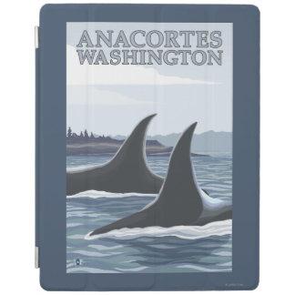 Orca Whales #1 - Anacortes, Washington iPad Cover