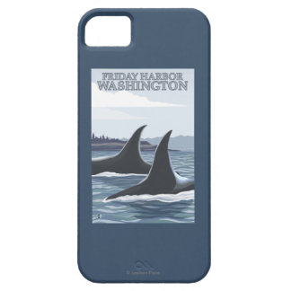 Orca Whales #1 - Friday Harbor, Washington iPhone 5 Cases
