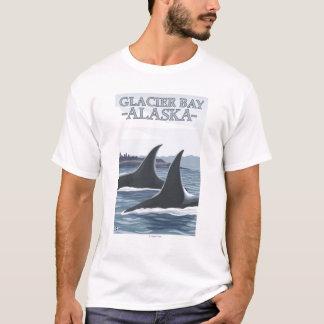 Orca Whales #1 - Glacier Bay, Alaska T-Shirt