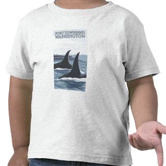 Orca Whales #1 - Port Townsend, Washington Shirt
