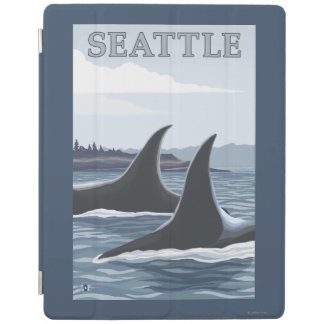 Orca Whales #1 - Seattle, Washington iPad Cover