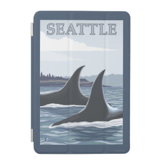 Orca Whales #1 - Seattle, Washington iPad Mini Cover