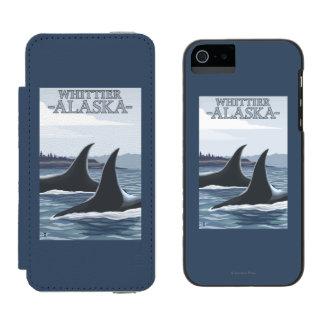 Orca Whales #1 - Whittier, Alaska Incipio Watson™ iPhone 5 Wallet Case