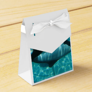 Orca Whales Wedding Favor Box