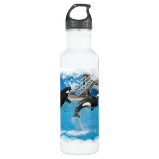 Orca Whales 24oz Water Bottle